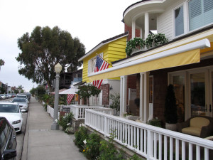 Balboa Island, Newport Beach, California