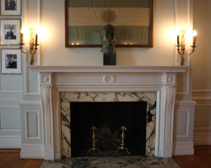 Embassy of Argentina Fireplace
