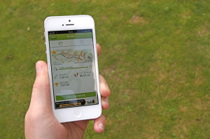 Endomondo Fitness App on iPhone 5